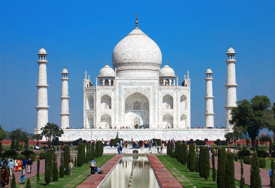 places famous around different place another totally angle mahal taj
