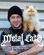 Rockers Show Their Softer Side By Posing With Their Cats. This Is The Best Combination Ever.