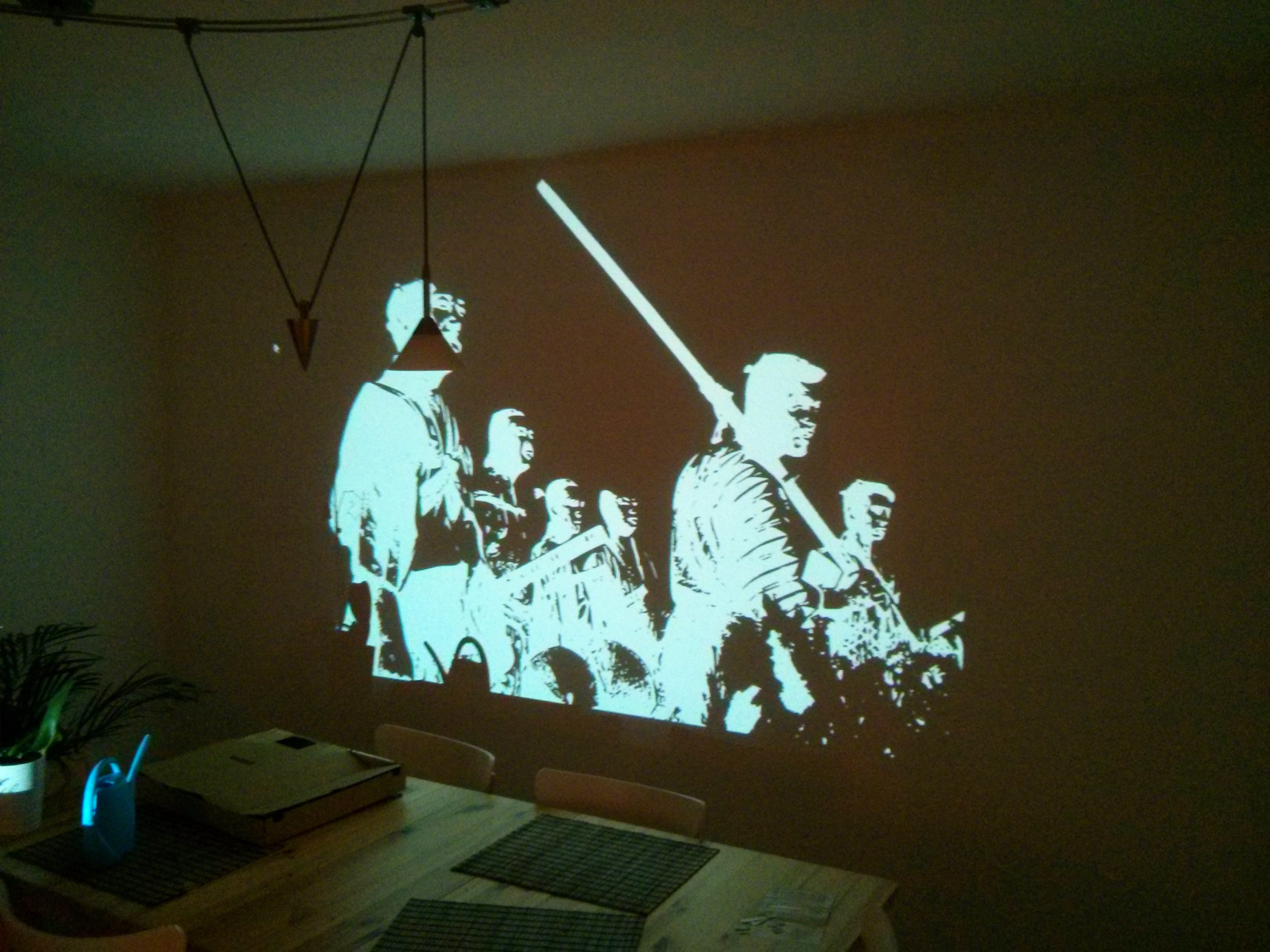Anyone can be an artist it just takes some creativity for Best projector for mural painting