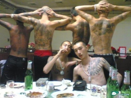 10 most dangerous and bad ass gangs in the world what the for Chinese triad tattoo