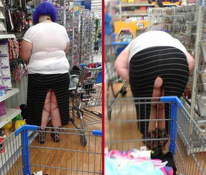 With you people walmart shoppers