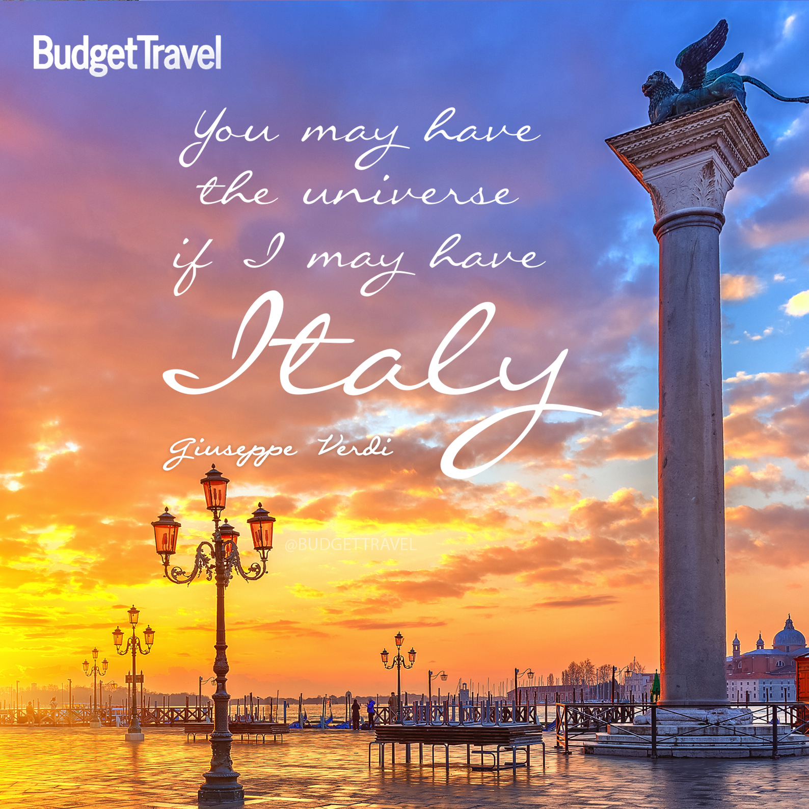 20 Of The Most Inspiring Travel Quotes Of All Time: You-may-have-italy-travel-quote-472015-192937_original