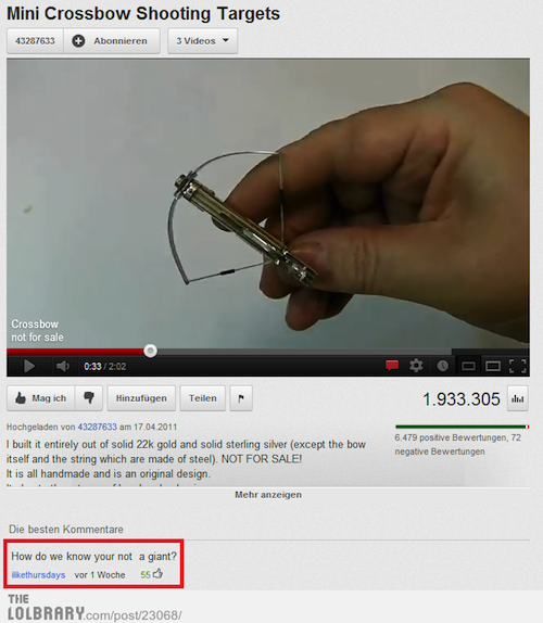 funny-youtube-comments-crossbow
